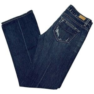 Paige Denim Blue Jeans size 26 boot cut